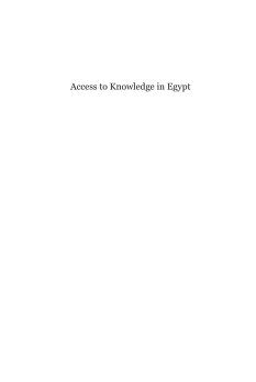 Cover of: Access to Knowledge in Egypt by