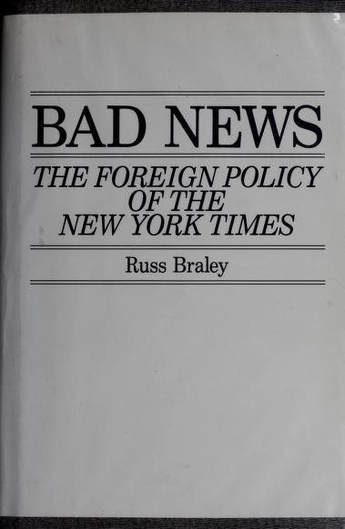Bad news by Russ Braley