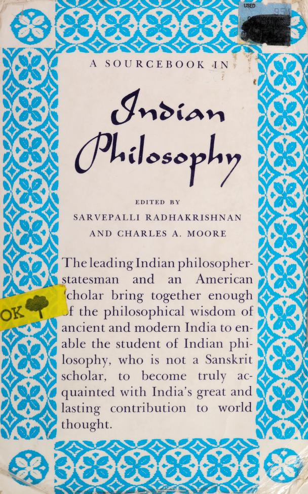 A source book in Indian philosophy by Radhakrishnan, S.